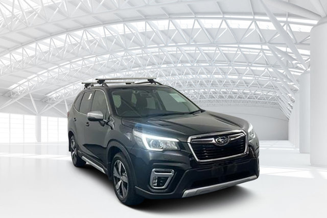 Used Subaru Forester S5 MY19 2.5i-S CVT AWD Moorebank, 2019 Subaru Forester S5 MY19 2.5i-S CVT AWD Crystal Black 7 Speed Constant Variable Wagon