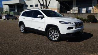2016 Jeep Cherokee KL MY16 Longitude (4x4) White 9 Speed Automatic Wagon.