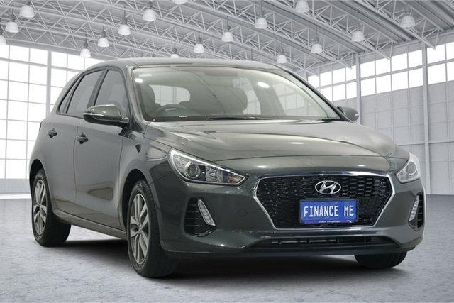 Used Hyundai i30 PD2 MY20 Active Victoria Park, 2020 Hyundai i30 PD2 MY20 Active Amazon Gray 6 Speed Sports Automatic Hatchback