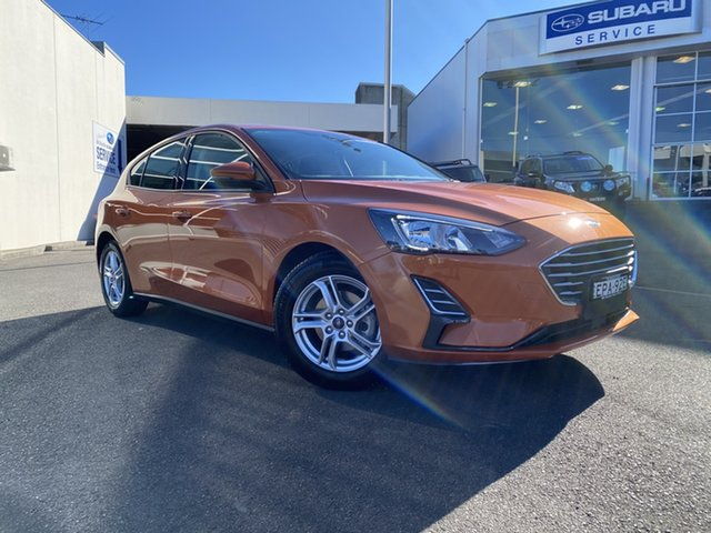 Used Ford Focus SA 2019.25MY Ambiente Brookvale, 2019 Ford Focus SA 2019.25MY Ambiente Orange 6 Speed Automatic Hatchback