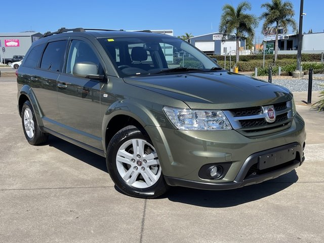 Used Fiat Freemont JF Urban Townsville, 2013 Fiat Freemont JF Urban Green 6 Speed Automatic Wagon