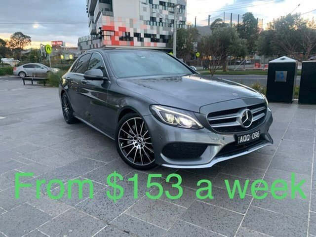 Used Mercedes-Benz C-Class W205 C250 South Melbourne, 2017 Mercedes-Benz C-Class W205 C250 Grey Sports Automatic Sedan