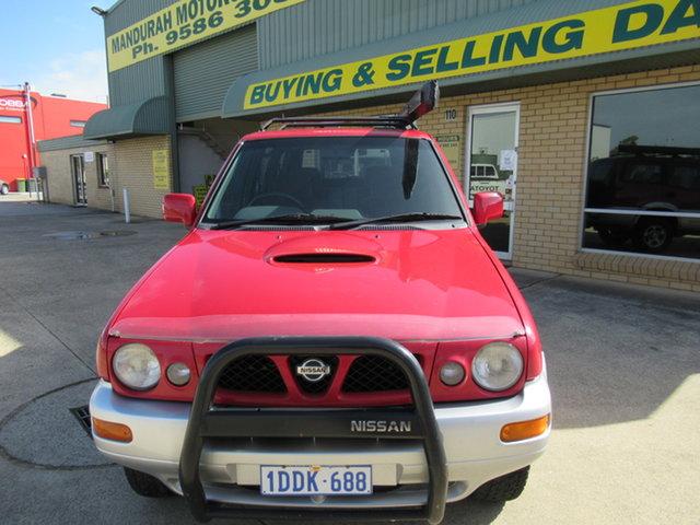 Used Nissan Terrano II TI Mandurah, 1999 Nissan Terrano II - TI Red 5 Speed Manual Wagon