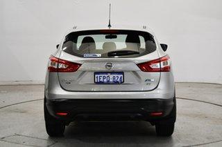 2014 Nissan Qashqai J11 ST Silver 1 Speed Constant Variable Wagon
