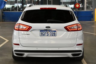 2016 Ford Mondeo MD Ambiente TDCi Island White 6 Speed Automatic Wagon