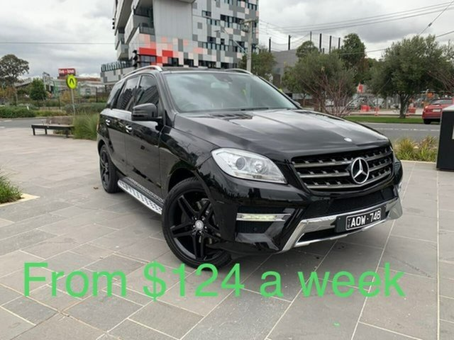 Used Mercedes-Benz M-Class W166 MY805 ML250 BlueTEC 7G-Tronic + South Melbourne, 2015 Mercedes-Benz M-Class W166 MY805 ML250 BlueTEC 7G-Tronic + Black 7 Speed Sports Automatic Wagon