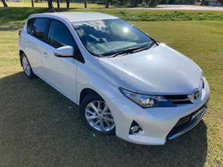 2013 Toyota Corolla ZRE182R Ascent Sport Crystal Pearl 7 Speed CVT Auto Sequential Hatchback.