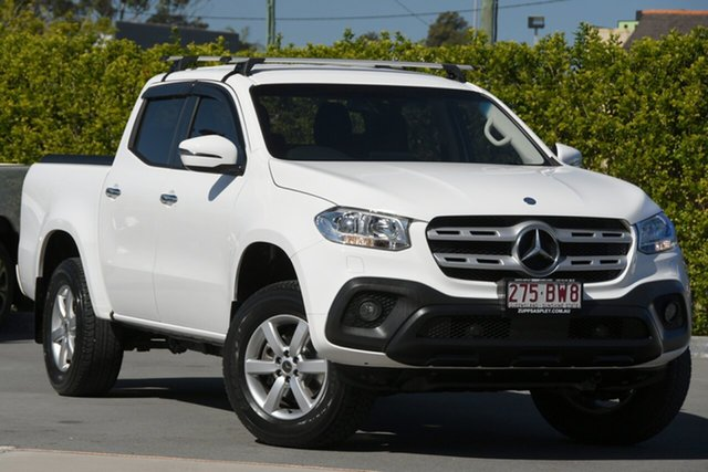 Used Mercedes-Benz X-Class 470 X250d 4MATIC Progressive Aspley, 2018 Mercedes-Benz X-Class 470 X250d 4MATIC Progressive White 7 Speed Sports Automatic Utility
