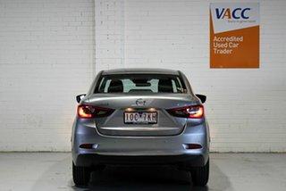 2018 Mazda 2 DL2SAA Maxx SKYACTIV-Drive Grey 6 Speed Sports Automatic Sedan