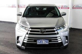 2018 Toyota Kluger GSU50R GXL (4x2) Silver 8 Speed Automatic Wagon.