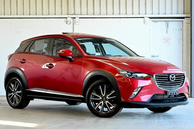 Used Mazda CX-3 DK2W7A Akari SKYACTIV-Drive Laverton North, 2016 Mazda CX-3 DK2W7A Akari SKYACTIV-Drive Red 6 Speed Sports Automatic Wagon