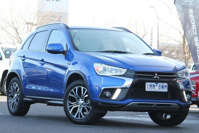 Used Mitsubishi ASX XC MY18 LS 2WD Essendon North, 2018 Mitsubishi ASX XC MY18 LS 2WD Blue 1 Speed Constant Variable Wagon