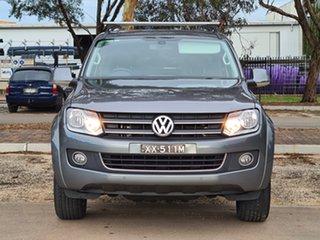 2013 Volkswagen Amarok 2H MY13 TDI420 4Motion Perm Highline Grey 8 Speed Automatic Utility.
