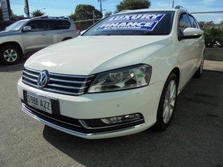 2013 Volkswagen Passat Type 3C MY14 130TDI DSG Highline White 6 Speed Sports Automatic Dual Clutch.