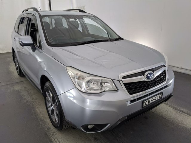 Used Subaru Forester S4 MY14 2.5i Lineartronic AWD Maryville, 2014 Subaru Forester S4 MY14 2.5i Lineartronic AWD Silver 6 Speed Constant Variable Wagon