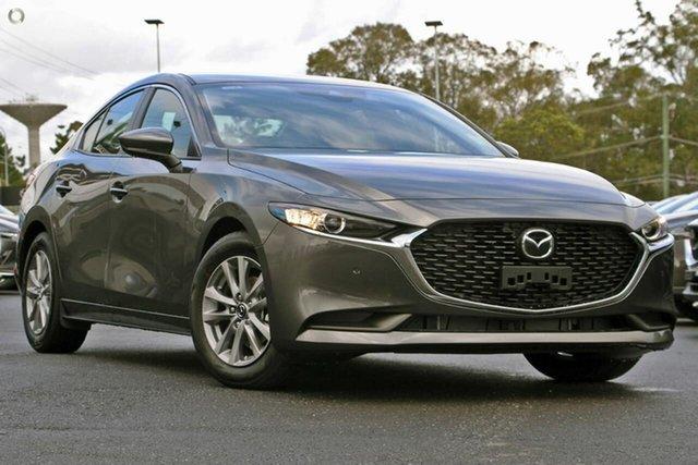 Demo Mazda 3 BP2S7A G20 SKYACTIV-Drive Pure Waitara, 2021 Mazda 3 BP2S7A G20 SKYACTIV-Drive Pure Grey 6 Speed Sports Automatic Sedan