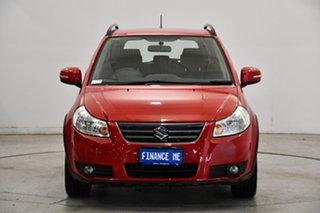 2012 Suzuki SX4 GYA MY13 Crossover S Red 6 Speed Constant Variable Hatchback.