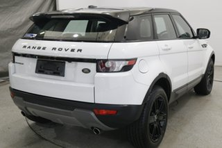 2012 Land Rover Range Rover Evoque L538 MY12 SD4 CommandShift Pure White 6 Speed Sports Automatic.