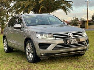 2014 Volkswagen Touareg 7P MY15 150TDI Tiptronic 4MOTION Silver 8 Speed Sports Automatic Wagon.