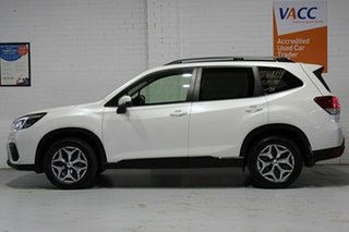 2019 Subaru Forester S5 MY19 2.5i CVT AWD White 7 Speed Constant Variable Wagon.