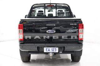 2018 Ford Ranger PX MkII 2018.00MY XLS Double Cab Black/Grey 6 Speed Sports Automatic Utility