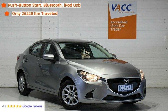 Used Mazda 2 DL2SAA Maxx SKYACTIV-Drive Moorabbin, 2018 Mazda 2 DL2SAA Maxx SKYACTIV-Drive Grey 6 Speed Sports Automatic Sedan