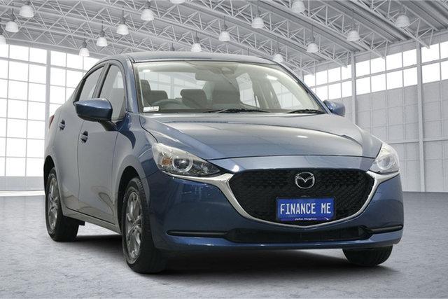 Used Mazda 2 DL2SAA G15 SKYACTIV-Drive Pure Victoria Park, 2020 Mazda 2 DL2SAA G15 SKYACTIV-Drive Pure Eternal Blue 6 Speed Sports Automatic Sedan