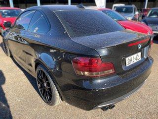 2011 BMW 125i E82 MY11 125i Black 6 Speed Automatic Coupe.
