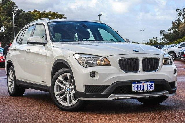 Used BMW X1 E84 MY0714 sDrive18d Cannington, 2015 BMW X1 E84 MY0714 sDrive18d White 8 Speed Sports Automatic Wagon