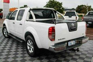 2014 Nissan Navara D40 S7 ST White 6 Speed Manual Utility.