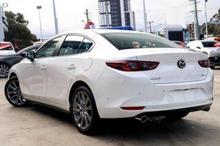 2021 Mazda 3 BP2SLA G25 SKYACTIV-Drive GT White 6 Speed Sports Automatic Sedan