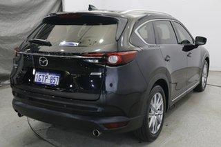 2018 Mazda CX-8 KG4W2A Asaki SKYACTIV-Drive i-ACTIV AWD Blue 6 Speed Sports Automatic Wagon.