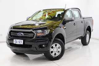2018 Ford Ranger PX MkII 2018.00MY XLS Double Cab Black/Grey 6 Speed Sports Automatic Utility.