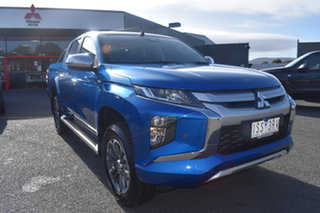 2020 Mitsubishi Triton MR MY21 GLX-R Double Cab Impulse Blue 6 Speed Sports Automatic Utility.