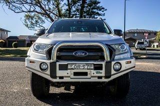 2017 Ford Ranger PX MkII 2018.00MY Wildtrak Double Cab Ingot Silver 6 Speed Sports Automatic Utility.