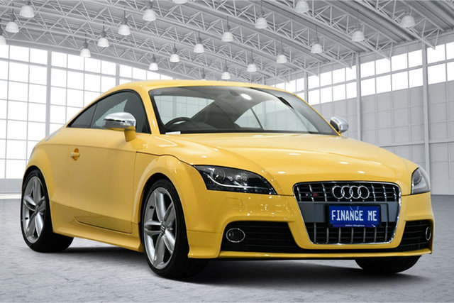 Used Audi TTS 8J MY10 S Tronic Quattro Victoria Park, 2010 Audi TTS 8J MY10 S Tronic Quattro Vegas Yellow 6 Speed Sports Automatic Dual Clutch Coupe