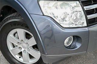 2008 Mitsubishi Pajero NS Platinum Edition Grey 5 Speed Sports Automatic Wagon.