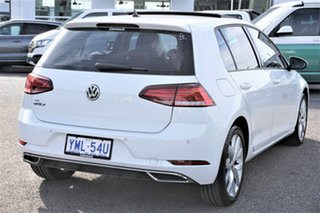 2018 Volkswagen Golf 7.5 MY18 110TDI DSG Highline Pure White 7 Speed Sports Automatic Dual Clutch