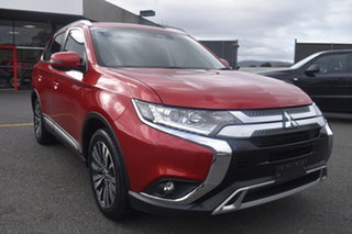 2018 Mitsubishi Outlander ZL MY19 LS 2WD Red 6 Speed Constant Variable Wagon.