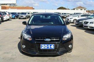 2014 Ford Focus LW MkII Sport Black 5 Speed Manual Hatchback