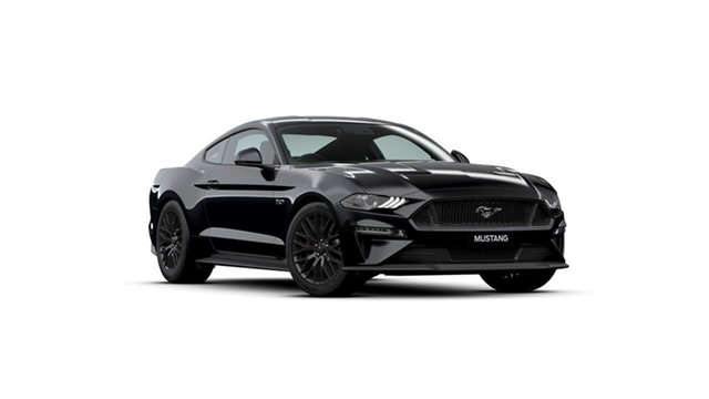 Used Ford Mustang FN 2020MY GT Midland, 2020 Ford Mustang FN 2020MY GT Black 10 Speed Sports Automatic Fastback