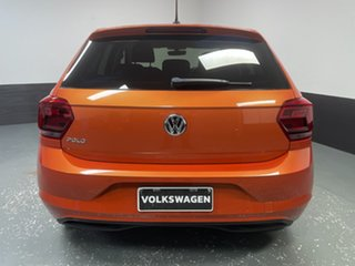 2017 Volkswagen Polo AW MY18 85TSI DSG Comfortline Energetic Orange 7 Speed