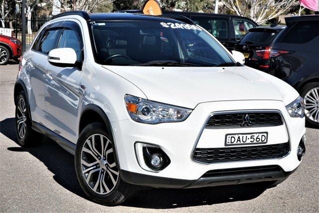 Used Mitsubishi ASX XB MY15.5 XLS 2WD Phillip, 2015 Mitsubishi ASX XB MY15.5 XLS 2WD White 6 Speed Constant Variable Wagon