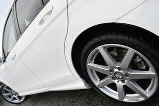 2014 Mercedes-Benz C-Class W204 MY14 C200 7G-Tronic + White 7 Speed Sports Automatic Sedan