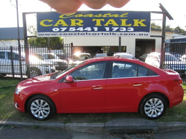 Used Holden Cruze JH MY12 CDX Nambour, 2012 Holden Cruze JH MY12 CDX Red 6 Speed Automatic Sedan