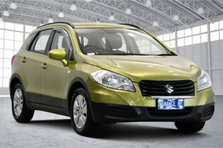 2014 Suzuki S-Cross JY GL Green 7 Speed Constant Variable Hatchback.