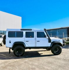 2010 Land Rover Defender 110 11MY White 6 Speed Manual Wagon.