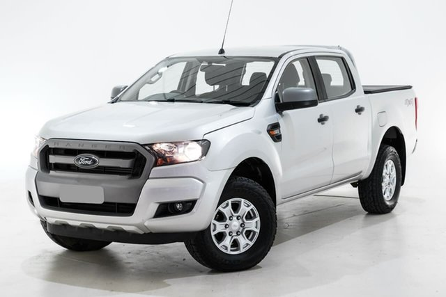 Used Ford Ranger PX MkII XLS Double Cab Berwick, 2017 Ford Ranger PX MkII XLS Double Cab Silver 6 Speed Sports Automatic Utility
