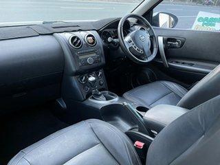 2009 Nissan Dualis J10 MY2009 Ti Hatch White 6 Speed Manual Hatchback