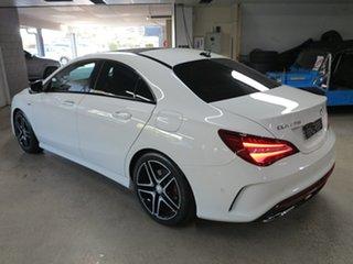 2016 Mercedes-Benz CLA-Class C117 806MY CLA250 DCT 4MATIC Sport White 7 Speed